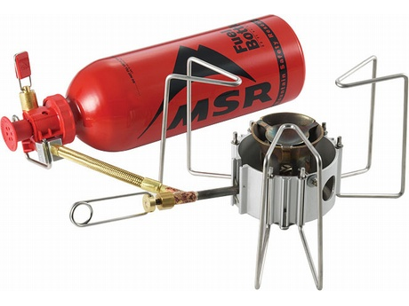 DragonFly liquid-fuel camp stove